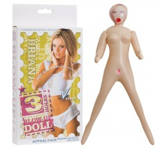 3 HOLES BRIANA INFLATABLE DOLL