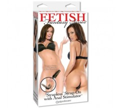"FETISH FANTASY ""STRAPLESS"" STRAP-ON COM ESTIMULADOR ANAL"