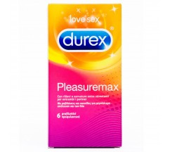 PLEASUREMAX DUREX CONDOMS 6 UNITS