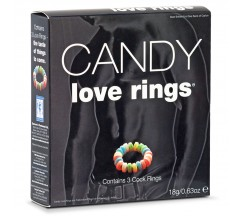 CANDY LOVE RINGS 3 PACK