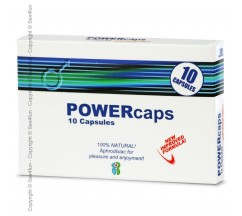 POWERCAPS 10 CAPSULES