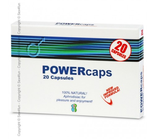 POWERCAPS 20 CAPSULES