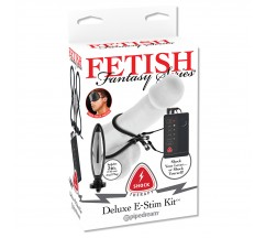 FETISH FANTASY SHOCK THERAPY DELUXE E-STIM KIT