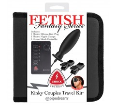 FETISH FANTASY KINKY COUPLES TRAVEL KIT SHOCK THERAPY