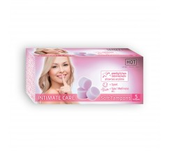 HOT INTIMATE CARE SOFT TAMPONES PACKAGE WITH 5 TAMPONS