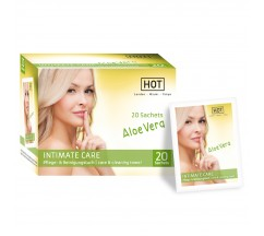 PACKAGE WITH 20 INTIMATE CARE WIPES