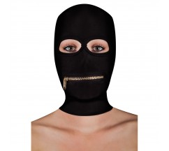 OUCH! EXTREME ZIPPER MASK BLACK