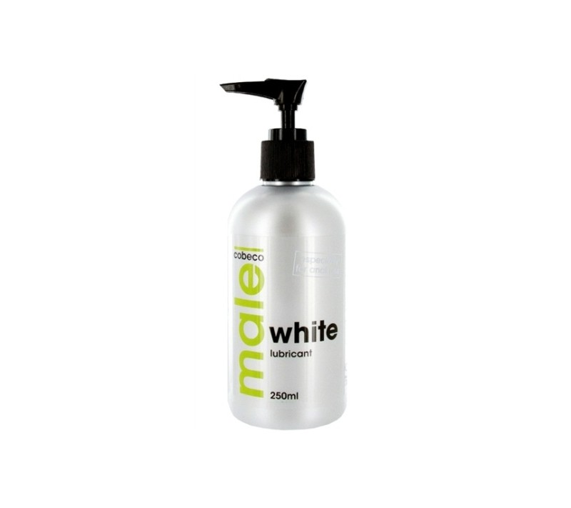 LUBRICANTE DE BASE ACUOSA MALE WHITE 250ML