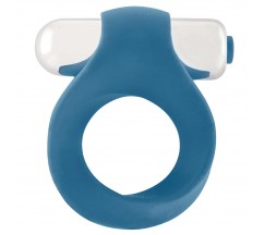 ANEL PARA O PÉNIS INFINITY SINGLE VIBRATING COCKRING AZUL