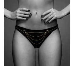 COLAR CORPORAL CULOTTE THE MAGNIFIQUE COLLECTION BIJOUX INDISCRETS DOURADO