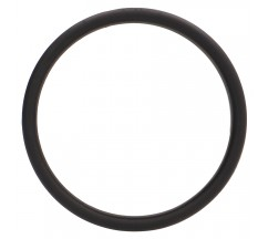 ANEL PARA O PÉNIS FLAT RING MEDIUM PRETO