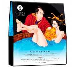 SHUNGA BATH SALTS LOVE BATH OCEAN TEMPTATIONS 650GR