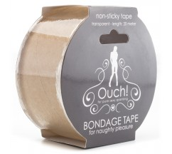 FITA OUCH! BONDAGE TAPE TRANSPARENTE