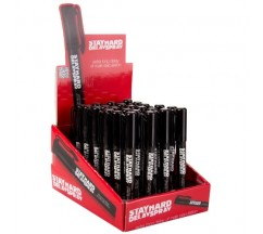 DISPLAY WITH 24 STAY HARD DELAY AND DESENSITIZING SPRAY PENS 6ML