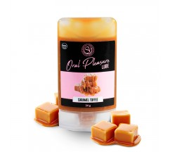 ORAL PLEASURE TOFFEE CARAMEL KISSABLE LUBRICANT 34GR