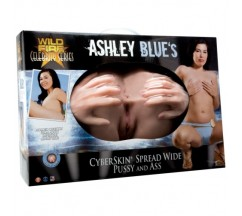 MASTURBADOR ASHLEY BLUE SPREAD WIDE VAGINA E ÂNUS