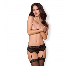 OBSESSIVE 864-GAR GARTER BELT AND THONG