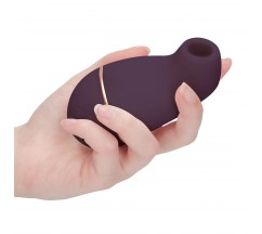 IRRESISTIBLE KISSABLE RECHARGEABLE CLITORAL STIMULATOR PURPLE