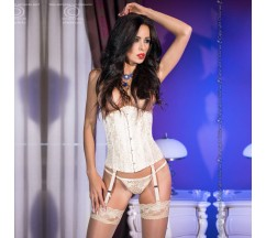 CORSET AND THONG CR-4321 GOLDEN
