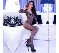 BODYSTOCKING CR-4307 BLACK