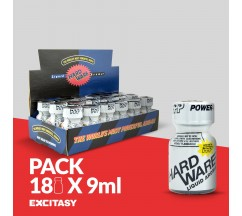 PACK CON 18 PWD HARDWARE 9ML