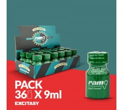 PACK WITH 36 PWD RAM 9ML