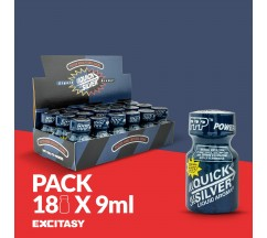 PACK COM 18 QUICKSILVER PWD 9ML