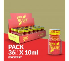 PACK COM 36 SUPER RUSH 10ML