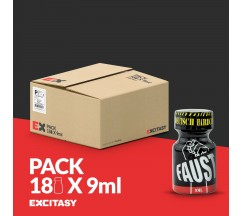 PACK COM 18 FAUST POPPERS 9ML
