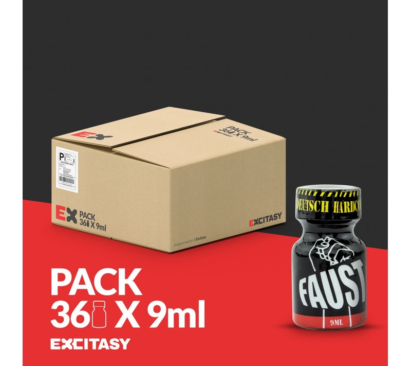 PACK COM 36 FAUST POPPERS 9ML