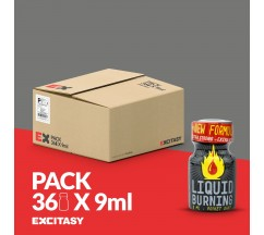 PACK COM 36 LIQUID BURNING 9ML