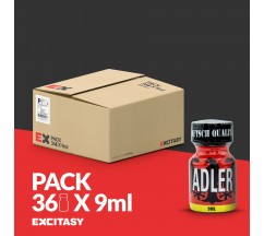 PACK COM 36 ADLER POPPERS 9ML