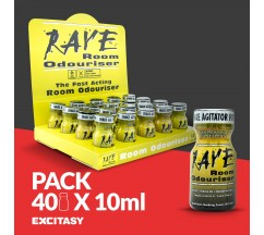 PACK COM 40 RAVE 10ML
