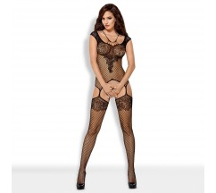 OBSESSIVE F229 BODYSTOCKING BLACK
