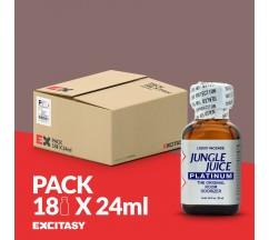 PACK COM 18 JUNGLE JUICE PLATINUM 24ML