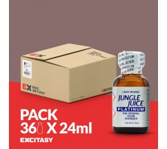 PACK COM 36 JUNGLE JUICE PLATINUM 24ML