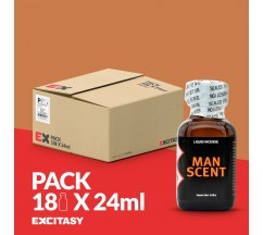 PACK COM 18 MAN SCENT 24ML