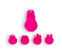CARESS RECHARGEABLE CLITORIAL STIMULATOR ADRIEN LASTIC PINK