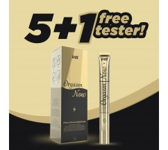 PACK 5 + 1 TESTER INTT ORGASM NOW STIMULANT GEL WITH VIBRATING TIP 15ML