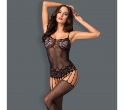 OBSESSIVE F235 BODYSTOCKING BLACK