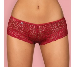 OBSESSIVE LIVIDIA SHORTIES RED