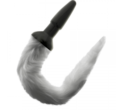 DARKNESS TAIL BUTT SILICONE PLUG -GRAY