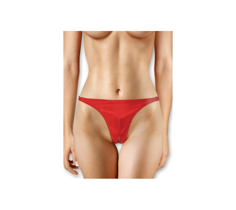OUCH! PANTY WITH VIBRATING BULLET RED