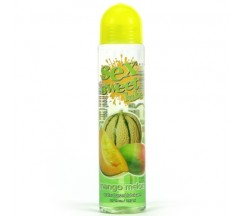 SEX SWEET LUBE MANGO MELON EDIBLE WATER BASED LUBRICANT 197ML