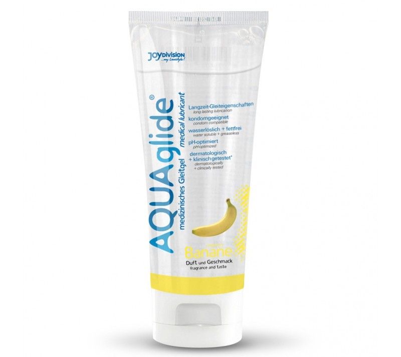 LUBRIFICANTE AQUAGLIDE BANANA 100ML