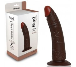 DILDO REALÍSTICO REAL RAPTURE EARTH FLAVOUR 7'' NEGRO