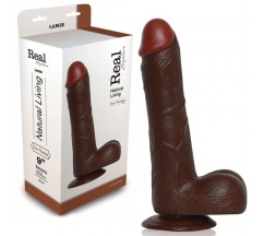 PENE REALÍSTICO REAL RAPTURE FIRE PASSION 9'' NEGRO