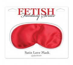 VENDA SATIN LOVE MASK FETISH FANTASY SERIES VERMELHA