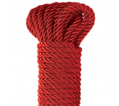 FETISH FANTASY SERIES DELUXE SILK ROPE RED