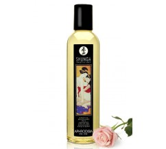 SHUNGA MASSAGE OIL APHRODISIA ROSE 250ML